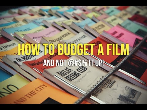 Don't F**K Up The Film Budget