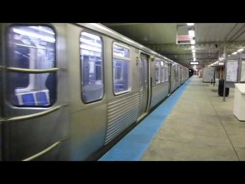 "CTA Transit: 2009 Bombardier 5000 Series ""L"" Pink Line Train at Cicero Station"