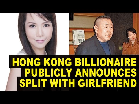 Hong Kong BILLIONAIRE Gave Ex-girlfriend $250 Million, Brags About it In Newspaper Ad!