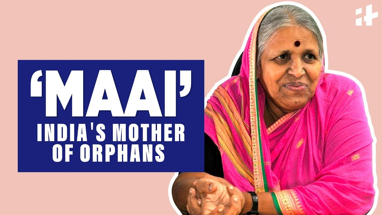 Indiatimes - Meet Sindhutai Sapkal aka 'MAAI', India's Mother Of Orphans