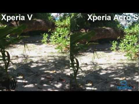 Камера Sony Xperia V vs Xperia Acro S: сравнение без стабилизации