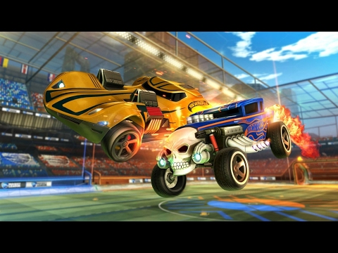 Rocket League Official Hot Wheels Trailer