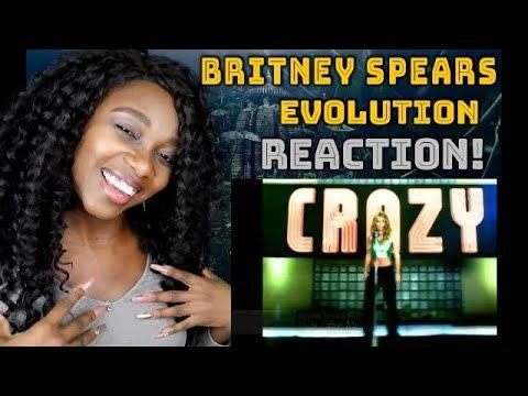 Britney Spears Evolution REACTION!