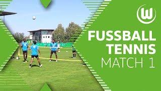 Trashtalk am Netz - Fußball-Tennis mit Guilavogui, Roussillon & Co. | VfL Wolfsburg