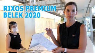 Отдых в Турции 2020 Как работает отель RIXOS PREMIUM BELEK на карантине