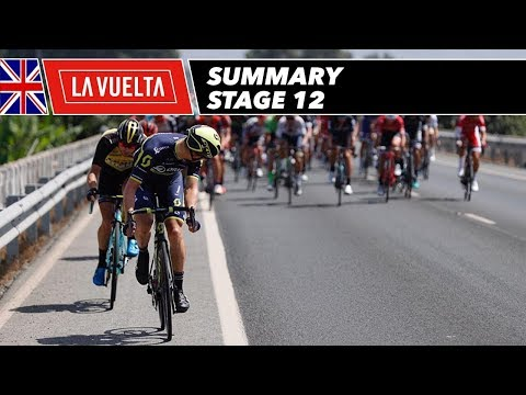 Summary - Stage 12 - La Vuelta 2017