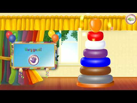 Baby Sorter. Game for kids. learning to sort for kids