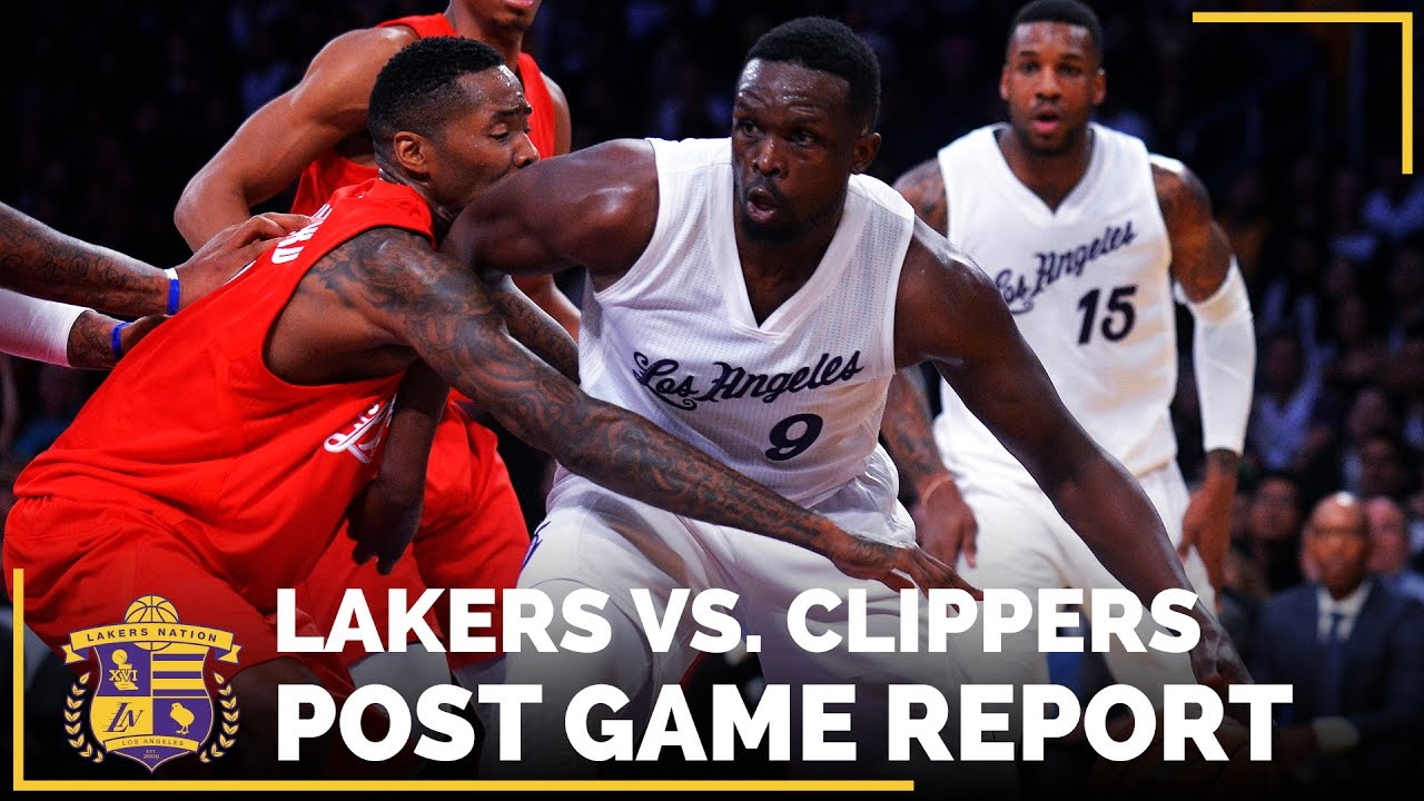 NBA Christmas Day 2016: Lakers Vs. Clippers - YouTube