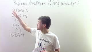Přijímací zkoušky na SŠ 2018 #15 - Lineární rovnice (příklady)