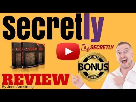 Secretly Review, - [WARNING] DON'T GET SECRETLY WITHOUT MY **CUSTOM** BONUSES!!