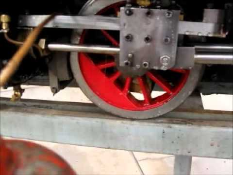 How to fire up a coal fired steam locomotive