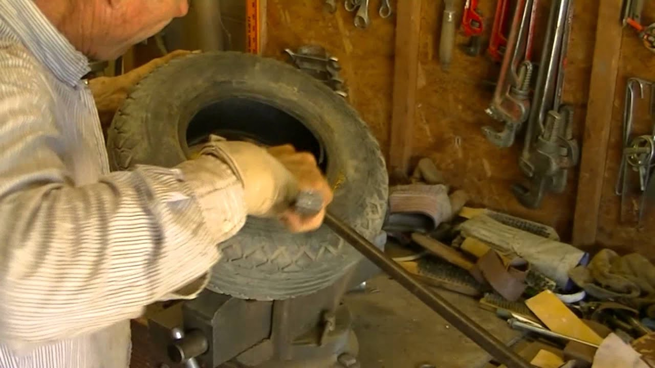 Changing A Garden Tractor Or Lawn Mower Tire Made Easier