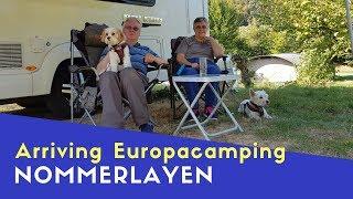 Arriving At Eurocamping Nommerlayen Luxembourg | Euro Trip 2018 Pt9