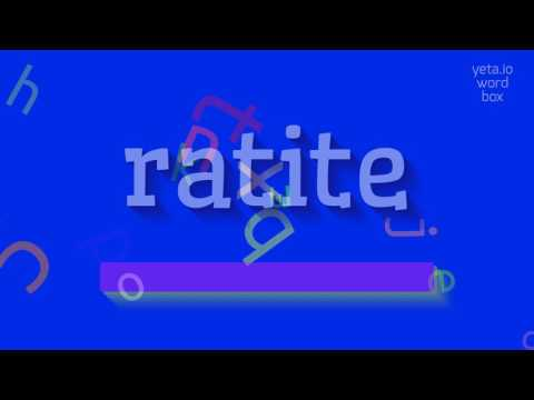"How to say ""ratite""! (High Quality Voices)"