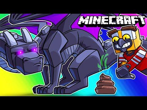 Minecraft Funny Moments - Ender Dragon Turd Hunt