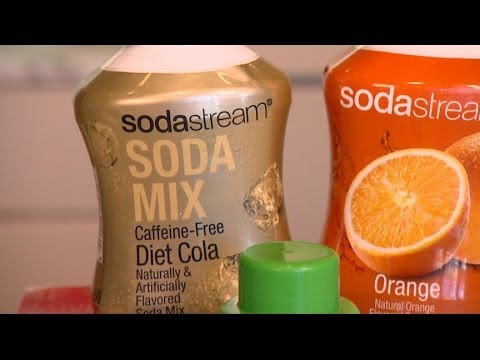 how to work a sodastream