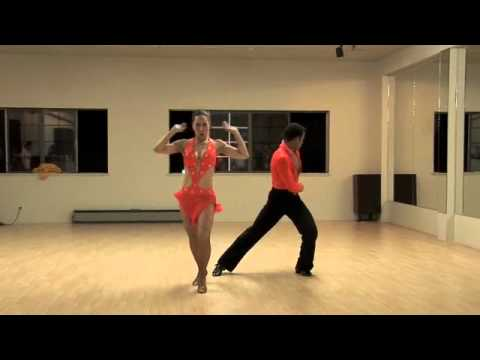 Takeshi & Laura @ Symbolic Dance & Fitness, Pre SF Salsa Congress Party 2010