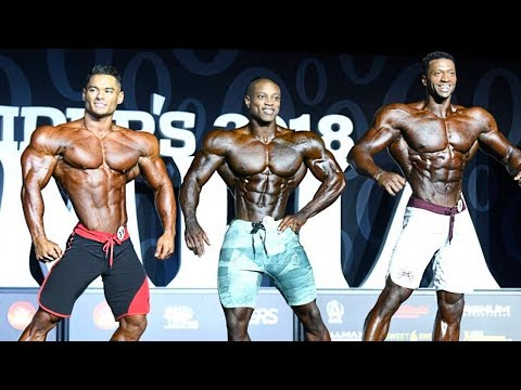 Mr Olympia 2018 HD Men's Physique competitors