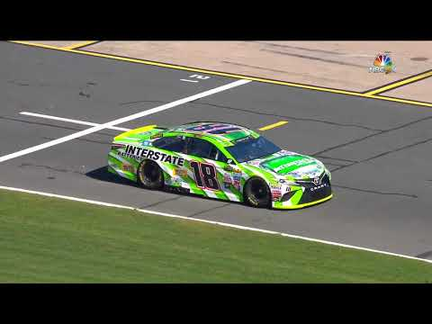 Troubles for Kyle Busch in opening practice