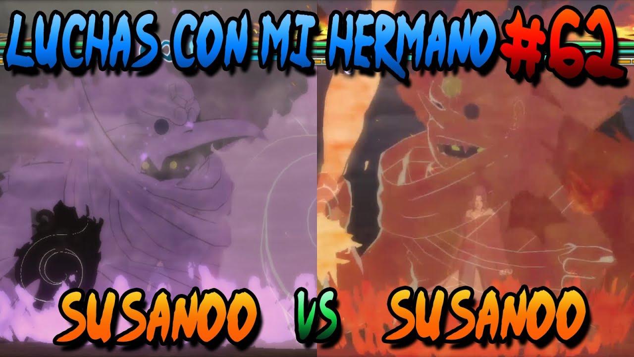 Epico Susanoo De Sasuke VS Edo Itachi