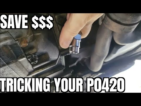 How to Fix P0420 p0430 04-08 Acura TL