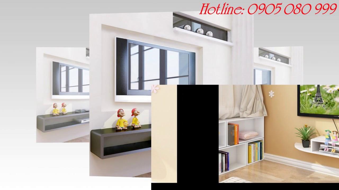 Kệ gỗ Tivi | khung tranh treo tường|Kệ gỗ treo tường|0905080999
