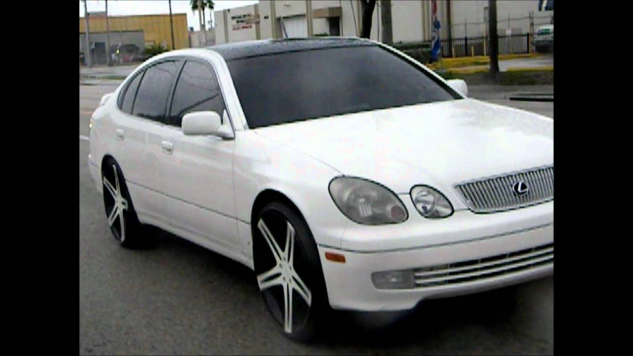 2000 Lexus Gs 300 On 22s Cartel Customs Miami Florida Swirve
