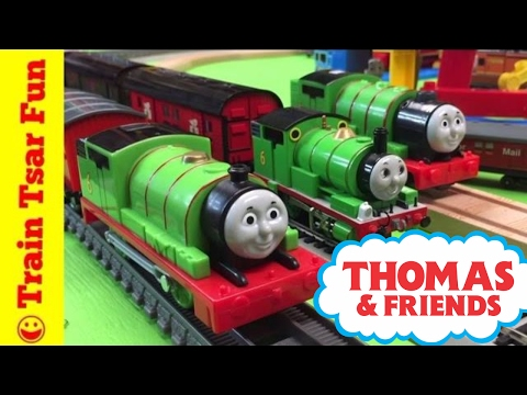 Percy Mail Train Collection   Thomas Track Master, HO Scale, more trains!