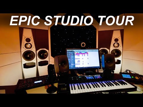 THE MOST EPIC HOME STUDIO