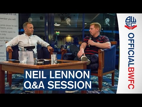 BWSA Q&A | Neil Lennon meets the fans