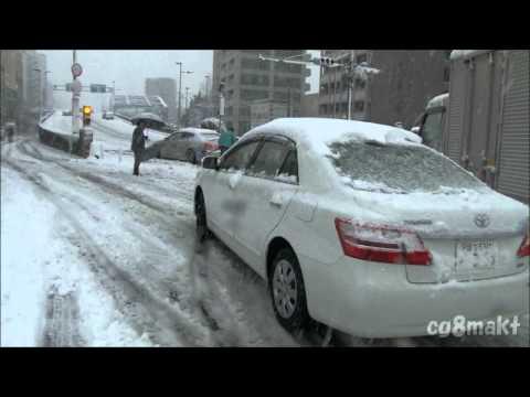 2013 東京爆弾低気圧大雪