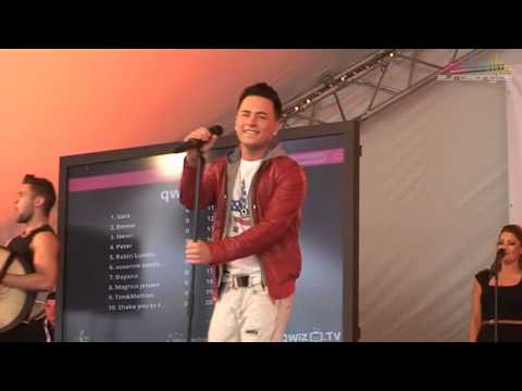 Ryan Dolan - Only love survives at EuroVillage in Malmö (Ireland - Eurovision 2013)