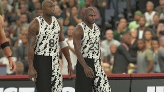 NBA 2K17 PS4 My Team - Shaq Goes Coast to Coast!