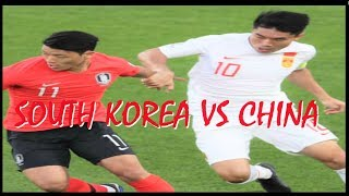 South Korea Versus China 2-0 Highlights & Goals AFC 2019 UAE