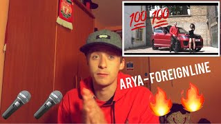 reaction video -Arya - Foreign Linen [Music Video] EPISODE 1