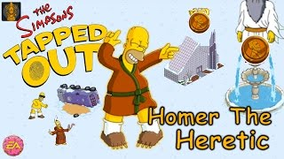 Get ALL The Prizes from Homer The Heretic 2017 - The Simpsons Tapped Out