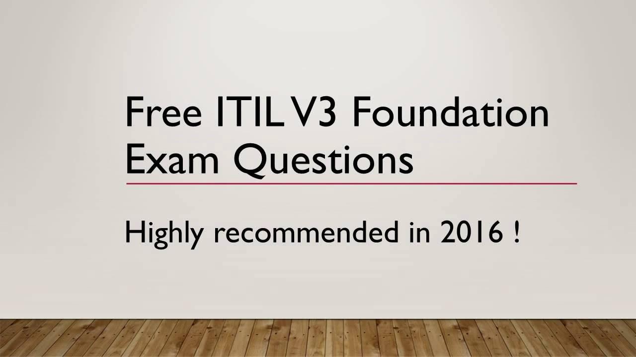 Free Resume 2018 Itil V Foundation Certification Free Resume