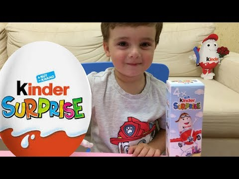 Киндер сюрприз  игрушки Kinder Surprise Eggs Chocolate Kinder Surprise Toy Opening