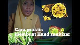 Begini cara membuat antiseptik (hand ...