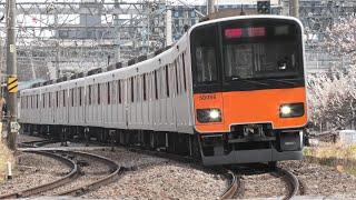 東武50000系50050型51056F 急行南栗橋行 春日部~北春日部通過【4K】