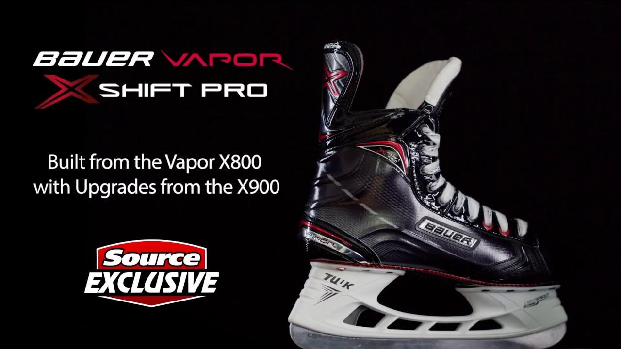 41d137b4151 Source Exclusive Bauer Vapor X Shift Pro Hockey Skates