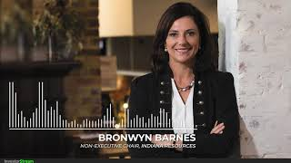 Investor Stream chats with: Indiana Resources Non-Executive Chair Bronwyn Barnes (August 30, 2019)