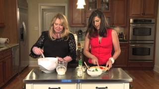 Spinach, Mushroom & Ricotta Quiche With Dill Potatoes : Gourmet Quiche Recipes