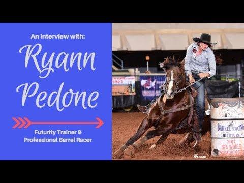 Ryann Pedone Barrel Racing Futurity Trainer