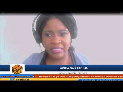 Farida Nabourema On 2015 Togo Elections