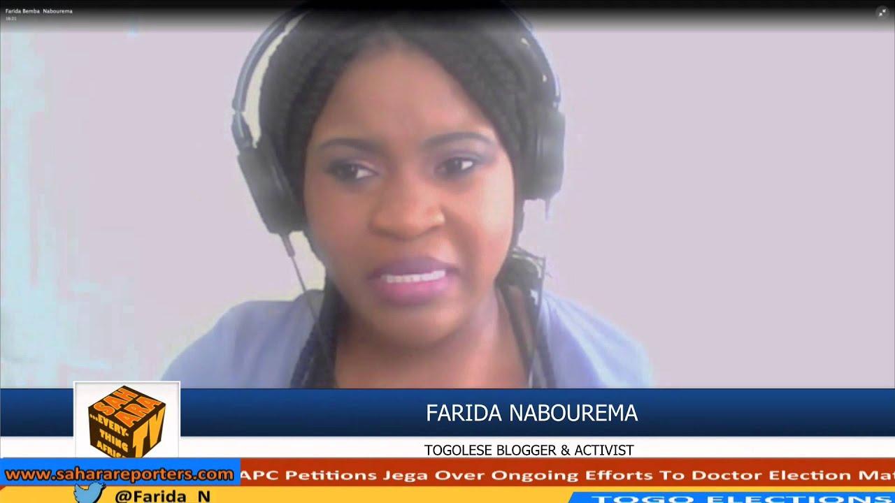 """Résultat de recherche d'images pour """"farida nabourema saharatv"""""""