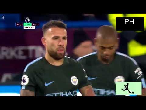 Manchester City vs Huddersfield Town 2 1 All Goals & Highlights 26 11 17