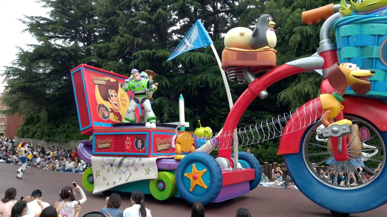 2016 日本東京迪士尼花車遊行 - YouTube