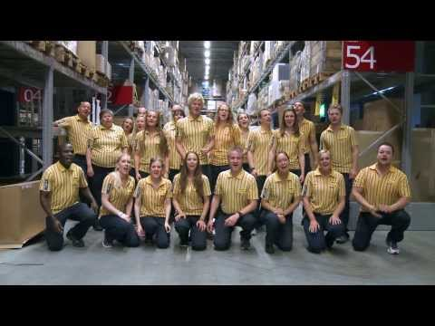 IKEA BERGEN MUSIC VIDEO WITH FUN AND DANCE AT WORK