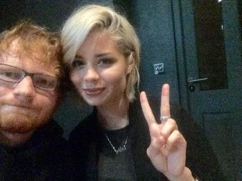 Ed Sheeran and Nina Nesbitt talking about each other